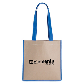 Customized Kraft Magazine Tote Bag