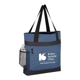 Customized Hidden Zipper Tote Bag