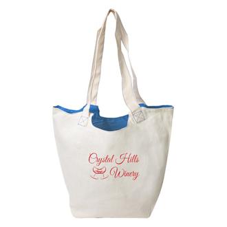 Customized Reversible Hobo Tote Bag