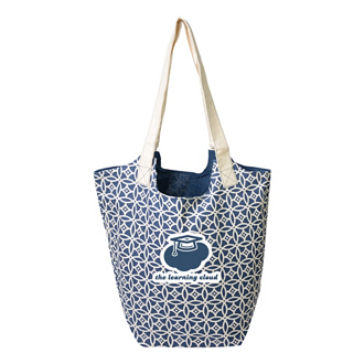 Customized Patterned Reversible Hobo Tote Bag