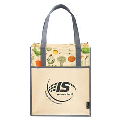 Customized Vintage Matte Laminated Tote