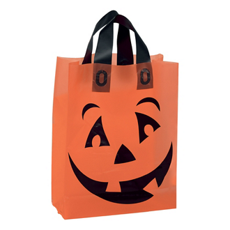 Customized Frosted Pumpkin Shopper Bag