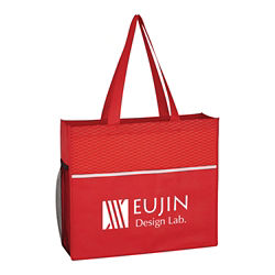 Customized Wave Design Tote Bag