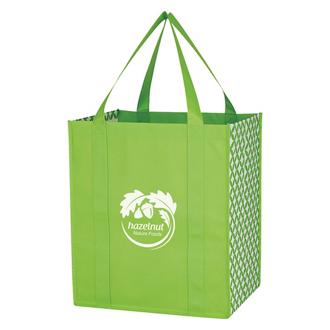 Customized Curved Diamond Tote Bag