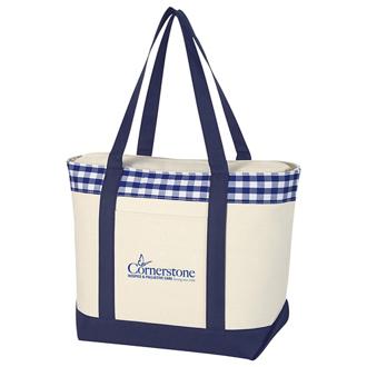 Customized Vineyard Tote Bag