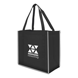 Customized Reflective Large Grocery Tote Bag