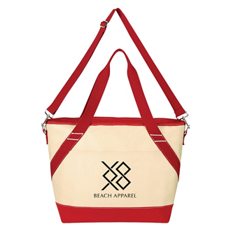 Customized Canvas Kooler Tote Bag