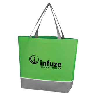 Customized Non-Woven Overtime Tote Bag