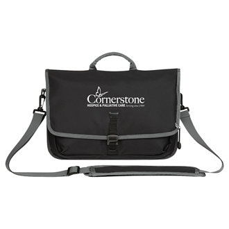 Customized Tech Messenger Bag
