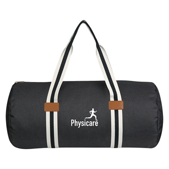 Customized Capetown Heathered Duffel Bag