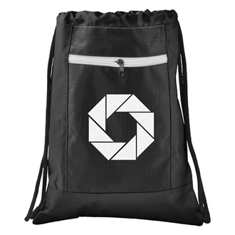 Customized Zippered Ripstop Drawstring Sportspack