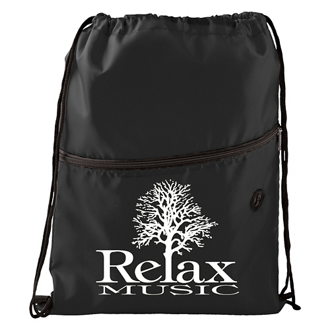 Customized Insulated Zippered Drawstring Sportspack