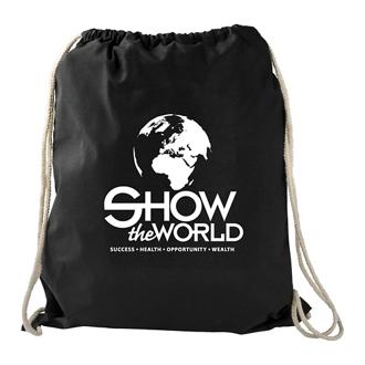 Customized Large Cotton Drawstring Sportspack