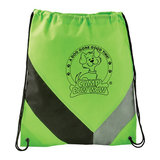 f136f60490 Customized Non-Woven Slant Drawstring Sportspack