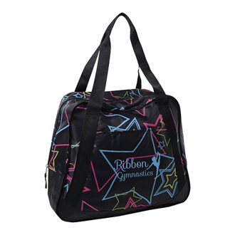 Customized Printed Peyton Duffle Bag with Front Zip Pocket