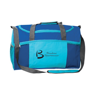 Customized Colorful Victory Sports Duffel Bag with Pockets