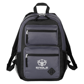 Customized Double Pocket Backpack