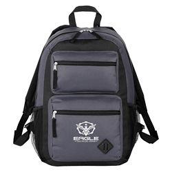 Customized Double Pocket Backpack