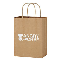 Customized Kraft Paper Brown Shopping Bag - 8