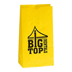Customized Colored Popcorn Bag