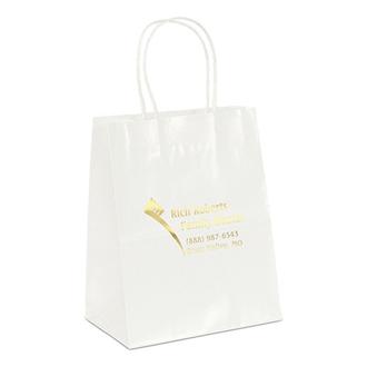 Customized Amanda-White Shopping Bag