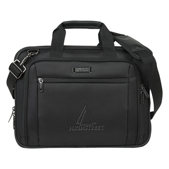 Customized Kenneth Cole® EZ-Scan Single Gusset Laptop Case