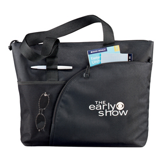Customized Excel Sport Zippered Utility Business Tote