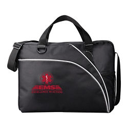 Customized Double Curve Business Briefcase