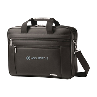 Customized Samsonite™ Two Gusset Computer Portfolio