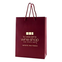 Custom Paper Bags With Logo Promotional