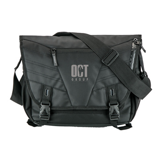 Customized Basecamp® Jetway Laptop Messenger