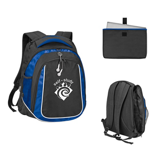 Customized Oxford Embroidered Laptop Backpack
