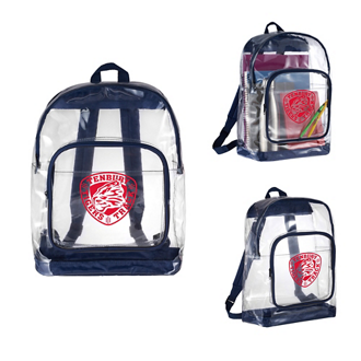 Customized Rally Clear Backpack