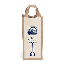 Customized Winona™ Natural Wine Bag