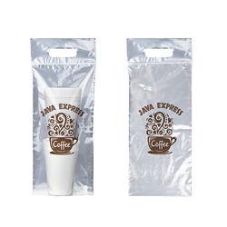 Customized 8''x21'' Zip Closure Plastic Bag