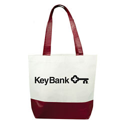 Customized rPET Laminated Tote Bag