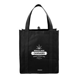 Customized Grocery Tote with Antimicrobial Additive