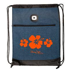 Customized Strand™ LED Light Drawstring Backpack