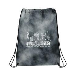 Customized Tie Dyed Drawstring Bag