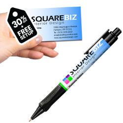 Customized Business Card Contour Pen