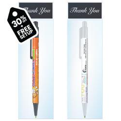 Customized Colourama Pen with Thank You Gift Bag
