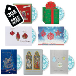 Customized Britebrand™ Gifts & Ornaments Card with Personalized CD