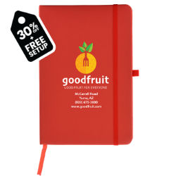 Customized Full Colour Inkjet 5''x8'' Soft Touch Cate Notebook