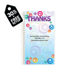 Customized Jot It Spiral Notepad