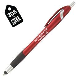 Customized Deluxe Metallic Cirrus Stylus Pen