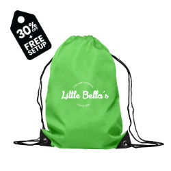 Customized Polyester Drawstring Bag