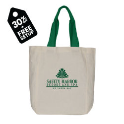 Customized Color Me Cotton Tote Bag