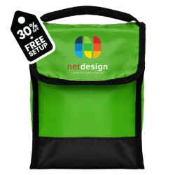 Customized Britebrand™ Tera Foldable Lunch Bag with Front Pocket