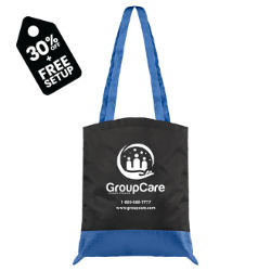 Customized Jose Tote Bag with Ripstop Trim