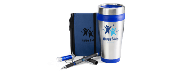 Best Promotional Items: Bag, Tumbler, Pen, Notebook & Flashlight
